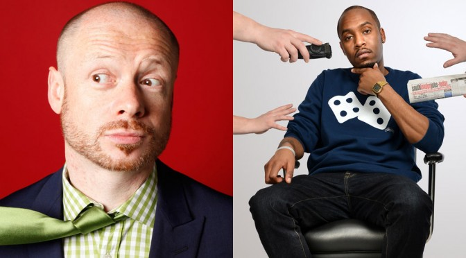 Alistair Barrie and Dane Baptiste
