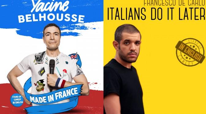 Yacine Belhousse & Francesco De Carlo